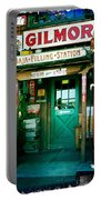 Old Fashioned Filling Station Portable Battery Charger
