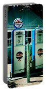Old Fashioned Gas Station Portable Battery Charger