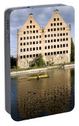 Old Granary In Gdansk Portable Battery Charger