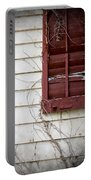Old House Red Shutter 3 Portable Battery Charger