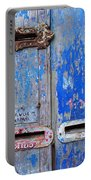 Old Mailboxes Portable Battery Charger by Carlos Caetano
