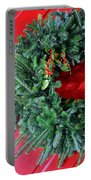 Old Mill Of Guilford Door Wreath Portable Battery Charger