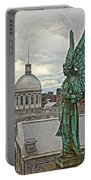 Old Montreal Angel Portable Battery Charger