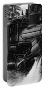 Old Number Three_climax Locomotive_durbin Wv _bw Portable Battery Charger