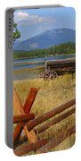 Old Ranch Wagon Portable Battery Charger