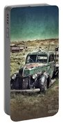 Old Rusty Truck Portable Battery Charger