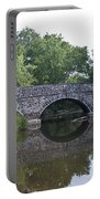 Old Sumneytown Pike Bridge Over The Perkiomen Creek Portable Battery Charger