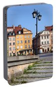 Old Town In Warsaw Portable Battery Charger