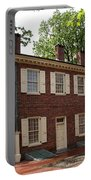Old Town Philadelphia Brownstone House Portable Battery Charger