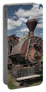 Old Vintage 1880's Railroad Train No.0394 Portable Battery Charger