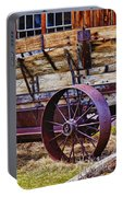 Old Wagon Bodie Ghost Town Portable Battery Charger