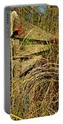 Old Weathered Gate Portable Battery Charger