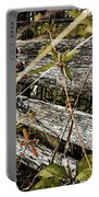 Old Weathered Gate Photoart II Portable Battery Charger