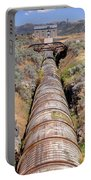 Old Wooden Water Pipeline - Rural Idaho Portable Battery Charger