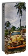 Old Yellow Truck Florida Portable Battery Charger