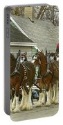 Olde Tyme Travel Clydesdales Portable Battery Charger