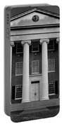Ole Miss Lyceum Black And White Portable Battery Charger