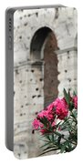 Oleander And Colosseum Portable Battery Charger
