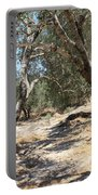 Olive Trees At Sebastia Portable Battery Charger