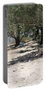 Olive Trees In Sebastia Nablus Portable Battery Charger