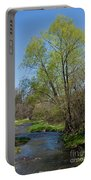 On The Banks Of Spring Portable Battery Charger