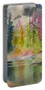 On The Colourful Pond Portable Battery Charger