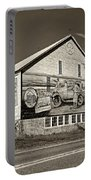 On The Lincoln Highway Sepia Portable Battery Charger
