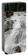 On The Rocks Glen Alpine Falls Portable Battery Charger