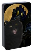 One Dark Halloween Night Portable Battery Charger
