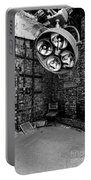 Operating Room - Eastern State Penitentiary - Black And White Portable Battery Charger