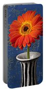 Orange Mum Portable Battery Charger