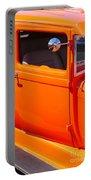 Orange Passenger Door Portable Battery Charger
