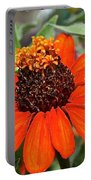 Orange Petals Portable Battery Charger
