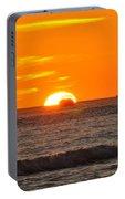 Orange Sunset V Portable Battery Charger