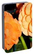 Orange Tuberous Begonias Portable Battery Charger