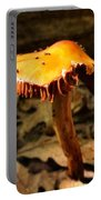 Orange Wild Mushroom Portable Battery Charger