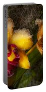 Orchid - Cattleya - Dripping With Passion  Portable Battery Charger