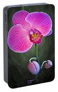 Orchid And Buds Portable Battery Charger
