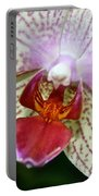 Orchid Close Up Portable Battery Charger