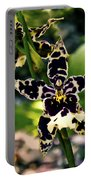 Orchid Study Portable Battery Charger