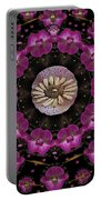 Orchids And Fantasy Flowers Portable Battery Charger