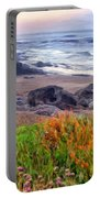Oregon Coast Wildflowers Portable Battery Charger