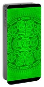 Oreo In Green Portable Battery Charger