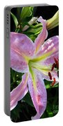 Oriental Lily Named Tom Pouce Portable Battery Charger