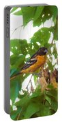 Oriole And Babies Portable Battery Charger