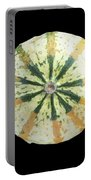 Ornamental Melon Portable Battery Charger by Heiko Koehrer-Wagner
