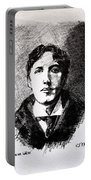 Oscar Wilde Portable Battery Charger