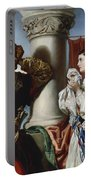 Othello And Desdemona Portable Battery Charger