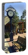 Outdoor Antique Clock Portable Battery Charger