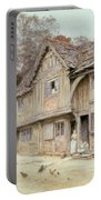 Outside A Timbered Cottage Portable Battery Charger